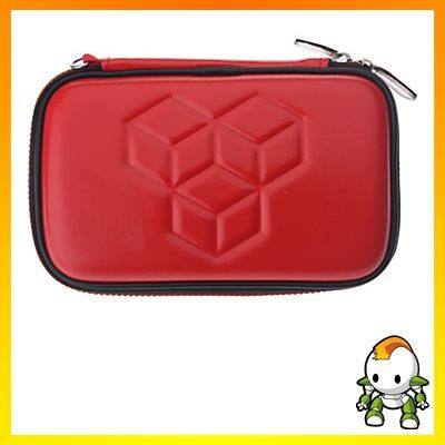 Hori 3DS - Tasche Hard-Pouch Rot